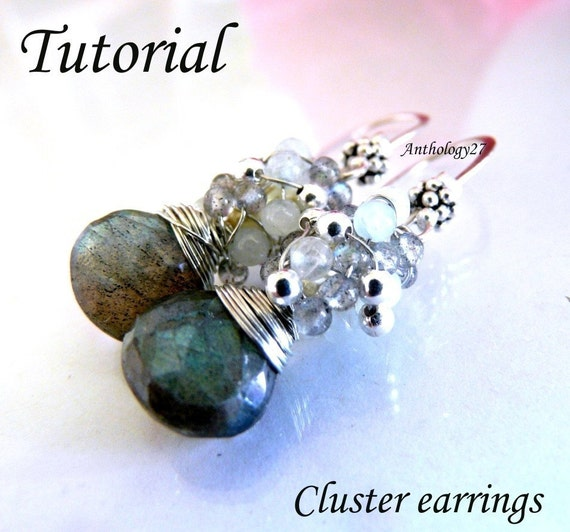 Tutorial - Cluster Earrings