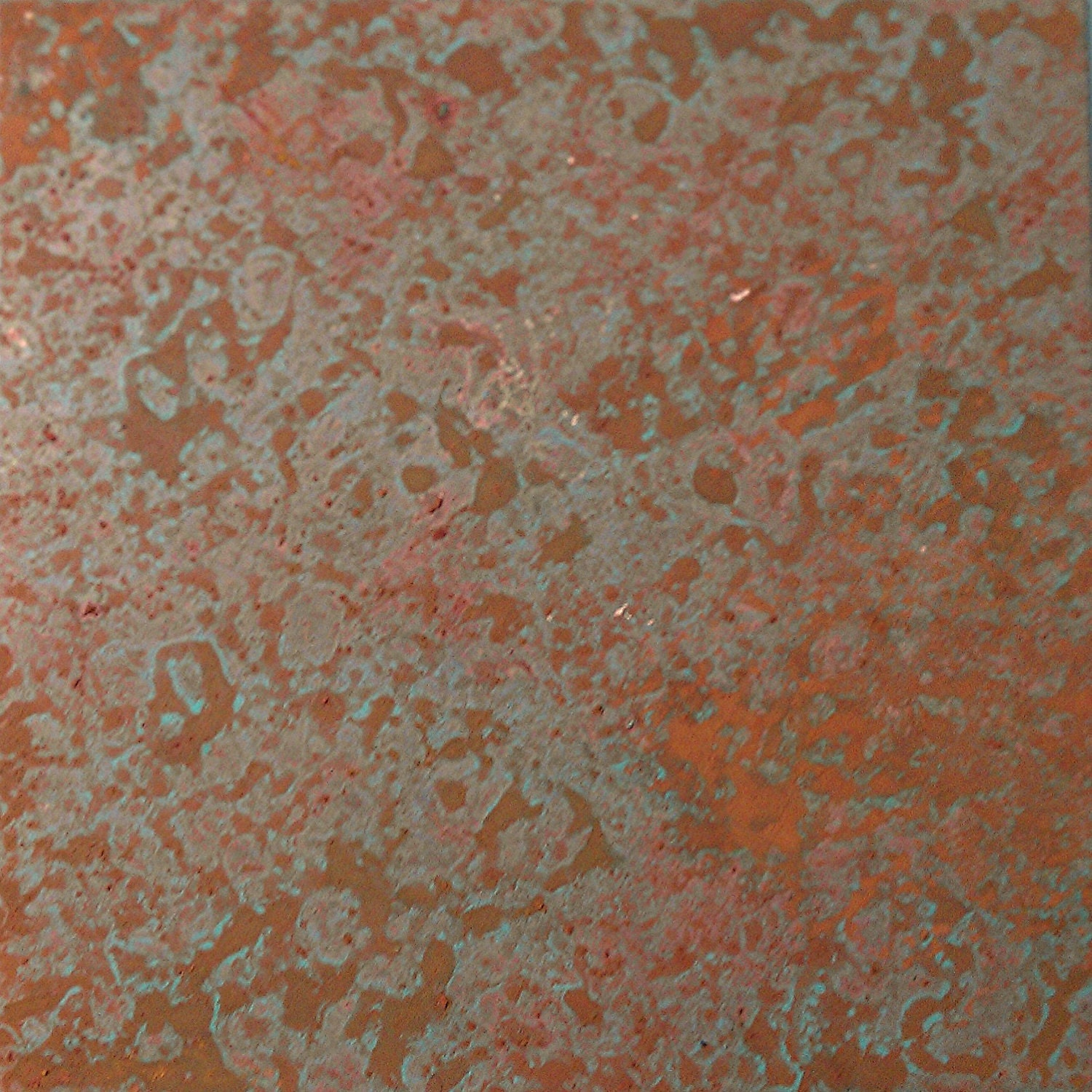 New Product Patinated Copper Sheet In Rust Amp Marbelized