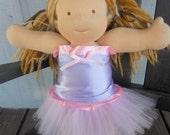 "15"" Doll Rapunzel Tangled Tutu and Corset Top Outfit Princess"