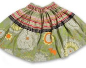 The Kathleen Skirt - Amy Butler Stripes and Patterns