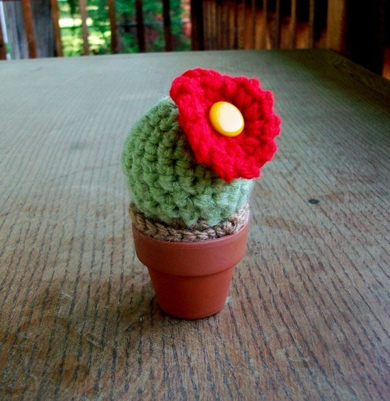 Etsy Amigurumi Cactus : Items similar to Amigurumi Cactus Pincushion on Etsy