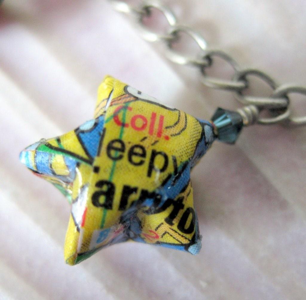 Origami Lucky Star Charm Bracelet Westchester New York Map - photo#3