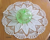 20 inch White Doily  NOW ON SALE  WAS 25.00