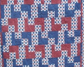STARS, STARS and more STARS quilt or throw 60 x 75 Sale was 98.00 now 60.00