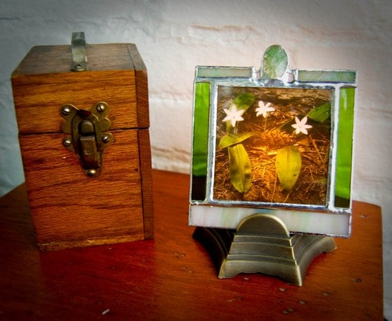 Magic Lantern Table Lamp Trinity In the Pines