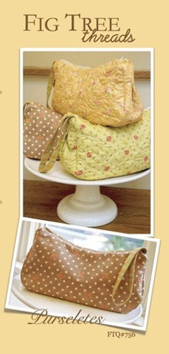 Purseletes Pattern by Fig Tree Quilts