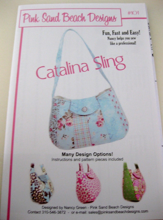 Catalina Sling Pattern by Pink Sand Beach Designs