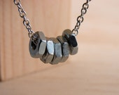 Choker Necklace Chain Industrial Hardware Jewelry