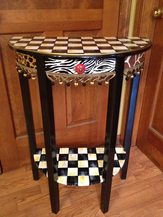 Items Similar To Whimsical Painted Furniture Hand Painted