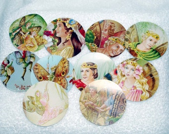 10 Fairy Circles 2.5 inch