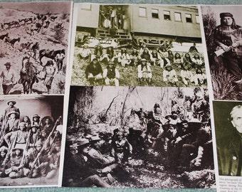 Search and Capture of Geranimo Vintage Ephemera 6 pieces