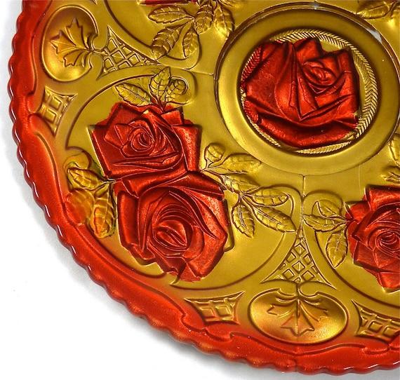Fantastic Goofus Glass Platter