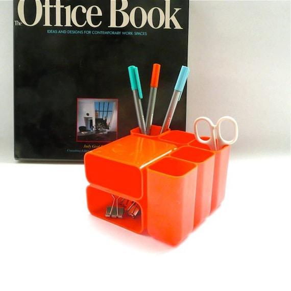 HOF Desk Organizer Bright Orange Hong Kong