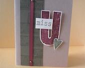 Miss You (U) Card