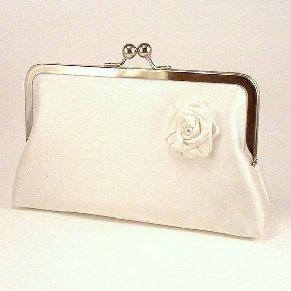 Luxury Custom Bridal and Bridesmaid Clutches - Choose Your Colors and Design