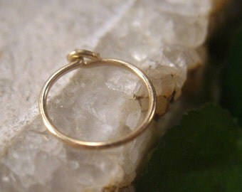 Nose Rings 14k Gold Filled Plain - Nose Ring, Nose Hoop, Nose Piercing, Nose Jewelry, Delicate Nose Ring, Minimal Nose Ring, Gold Nose Ring