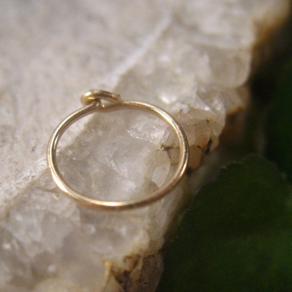 nose rings 14k gold filled by mysticmoons on etsy