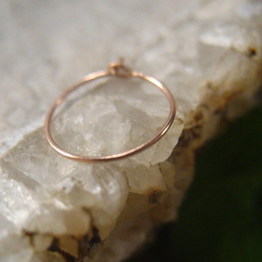 pink gold nose ring thin nose ring thin nose ring