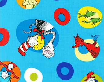 Plush Hooded Towel -- Dr Seuss- Cat in The Hat on your choice of towel color
