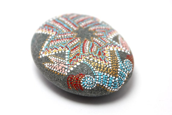 Year of the Dragon Series / Alaska / Painted Stones by Amy Komar