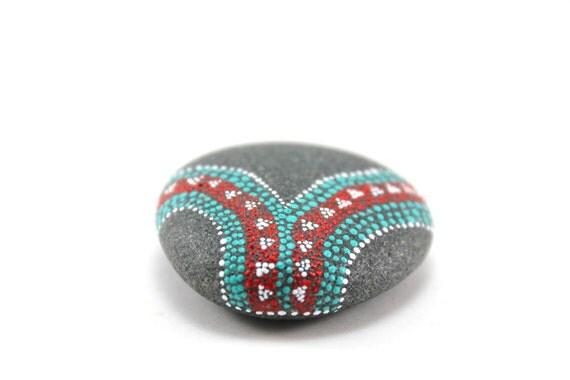 Ceremony / Alaska Series / Painted Stones by Amy Komar