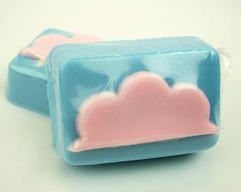 Cotton Candy Clouds  - Goat's Milk Soap Bar