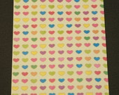 Paper Bags- Hearts - 25 BAGS