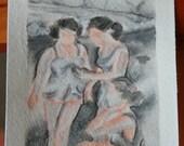 ORIGINAL 4x6 Paintings  - Original Art - Your Choice - FREE SHIPPING