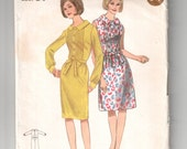 Vintage Butterick 3822 sewing pattern cut - complete