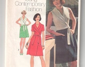 Vintage Simplicity 6262  sewing pattern cut - complete