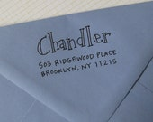 Chandler Address Stamp (Self-inking)