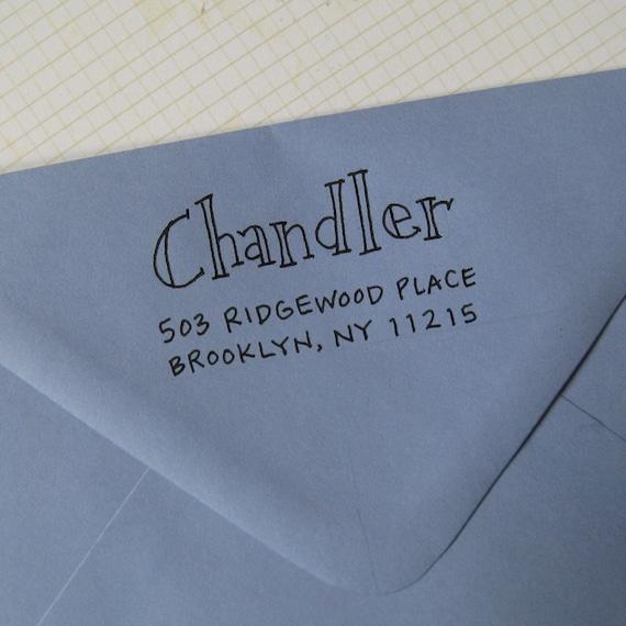Chandler Address Stamp (Self-inking)