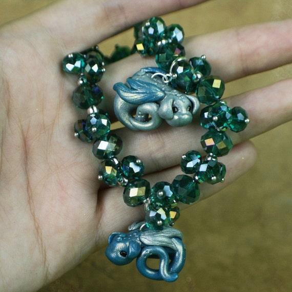 Turquoise Dragon Bracelet-Free Shipping
