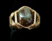 Price slashed Fire agate ring