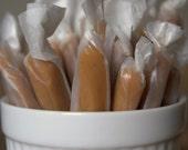 Honeyed Lemon and Tarragon Fleur de Sel Caramels a La Bella Caramella Original