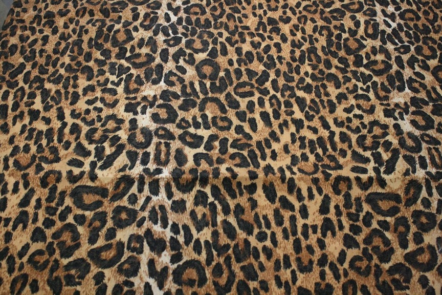 Leopard Print Fabric Home decor fabric