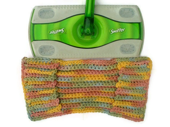 Pastel Rainbow Swiffer Cover