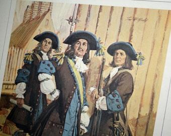 1966 Color Print- Le Regiment De Carignan-Salieres (1665)