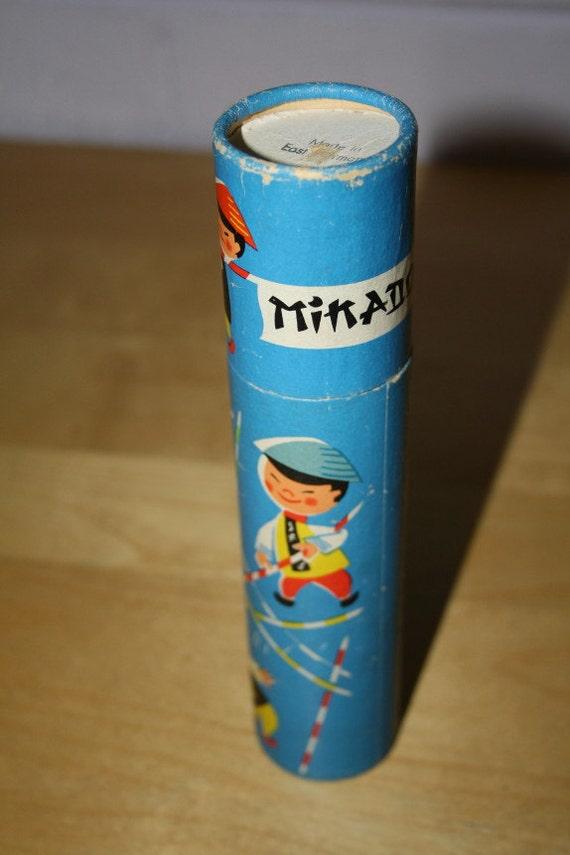 Vintage Mikado Spelregels Made in East Germany