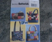 Fat quarters handbags pattern