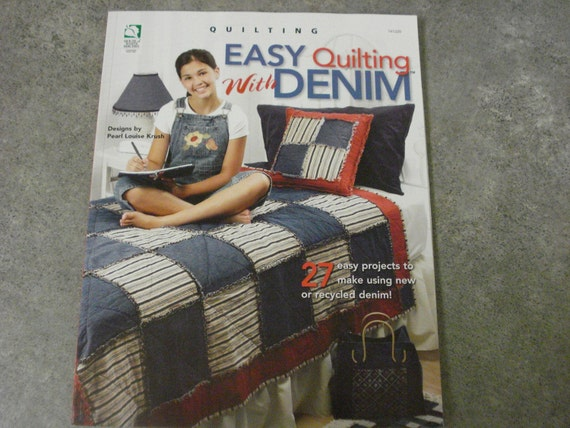 Easy Quilting With Denim craft book
