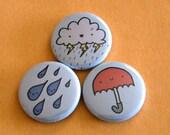 Rain Button Set