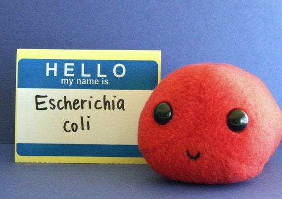 E. coli Plush Microbe