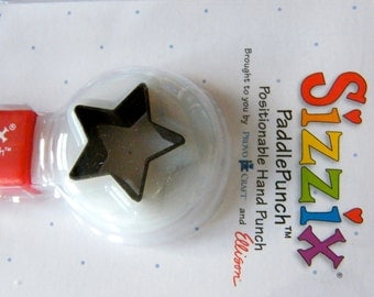 Star Sizzix Paddle Puncher