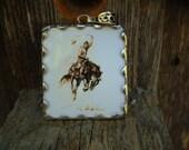 Bucking Horse Cowboy