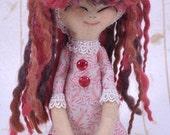 Fae, Collectible Handmade Art Doll