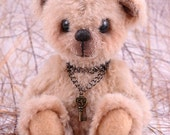 Candice, a OOAK Jointed Mohair Artist Bear.