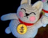 CUSTOM ORDER for Lara Maneki Neko Lucky Cat