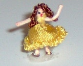 1/144th scale Dancing Dottie doll