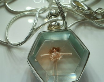 Fairy or other Tiny Doll in Glass Locket